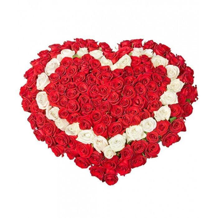 Букеты, букет цветов цветов в виде сердца мастер класс